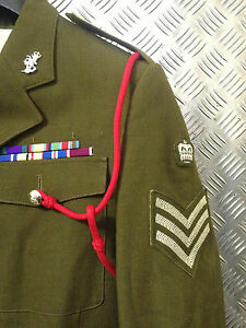 Genuine British Military Dress Lanyard For Parades Ceremony Asst Regiments NEW