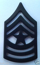 US ARMY RANK E9 SGT. MAJOR (SUBDUED) Military Veteran Hat Pin P12757 EE