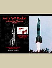 WWII A-4 / V-2 ROCKET MANUAL (in ENGLISH)      DECLASSIFIED Secret Weapon BOOK