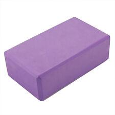 Foam Block Exercise Tool Purple Yoga Block Foaming Home