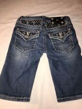 Miss Me Girls Bermuda Shorts Size 10 Excellent