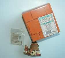 Friends of the Feather Great Plains Teepee Covered Box Enesco Mini Figurine