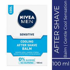 Nivea Men Sensitive Cooling After Shave Balm 100ml Instantly Calms Soothes Skin
