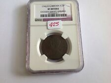 1742/0 Great Britain 1/2 P Ngc Xf Details Surface Hairlines