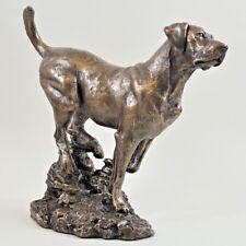 Labrador Retriever Cold Cast Bronze Figurine Sculpture Ornament Dog Lovers Gift