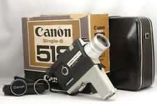 @ Ship in 24 Hours! @ As-Is @ Canon Single-8 518 8mm Film Movie Camera + C-8