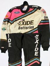 Geoff Bodine NASCAR Exide Batteries #7 Crew Race Worn Firesuit