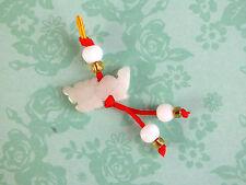 Jade Chino Zodiaco Animal Signo Dragón encanto colgante fiesta de cumpleaños de Año Nuevo