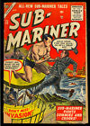 Sub-Mariner #42 Last Issue Golden Age Timely Atlas Superhero Comic 1955 GD