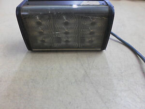Federal Signal 351012 Cuda TriOptic LED Light *Tested Working*