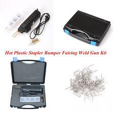 Car SUV 220V Hot Plastic Stapler Bumper Fairing Weld Gun Kit Stapler Repair Tool