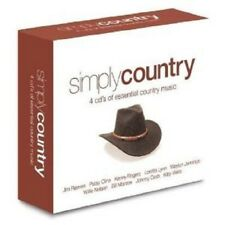 SIMPLY COUNTRY 4 CD NEW!