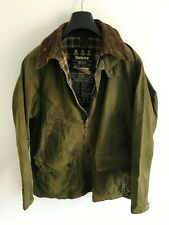 Mens Barbour Bedale wax jacket Green coat 40 in size Medium / Large M/L #3