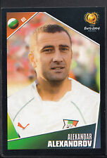 Panini Football Sticker - UEFA Euro 2004 - No 208 - Bulgaria - Alexandrov