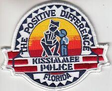 KISSIMMEE FLORIDA FL POLICE SHOULDER PATCH (OLDER)