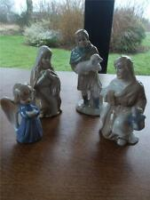 Unmarked Pottery Figurines