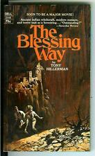 THE BLESSING WAY by Tony Hillerman, rare US Avon Navaho cop pulp vintage pb