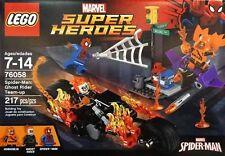 LEGO Super Heroes Spider-Man: Ghost Rider Team-up - 76058.