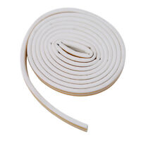 1pc Self Adhesive D Type Doors and for Windows Foam Seal Strip Soundproofing