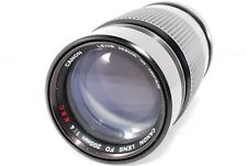 Canon FD 200mm f/4 S.S.C. Telephoto MF Lens f4 from JAPAN