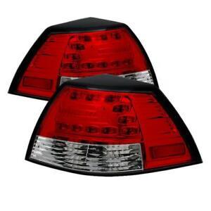 SPYDER 5008602 Pontiac G8 08-09 LED Tail Lights Red Clear ALT-YD-PG808-LED-RC