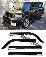 For 04-06 Scion xB Toyota bB JDM Side Door Window Frame Visors Rain Guard Vent