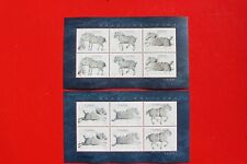 2001-22 china stamp Six Steeds Zhaoling Mausoleum Horse  Sheet mnh