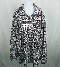 Lands End Quarter Zip Fleece Pullover Women's Plus Size 3X  24W  26W