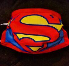 Dc Comic Justice League Superman Ho 00004000 use of El Symbol Double Cotton Face Mask