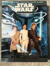 STAR WARS - Attack of The Clones - Two Player Trading Card Game. New Sealed
