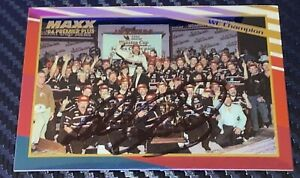 REAL! Dale Earnhardt MAXX PREMIER PLUS WINSTON CUP CHAMPION 1993 card JSA COA