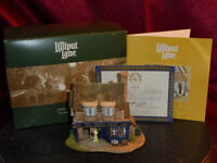 LILLIPUT LANE The China Shop (Village Shops) 740 Ornamental Model Box+deeds