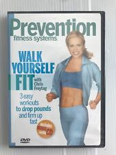 Walk Yourself Fit Chris Freytag +Bonus Cd Prevention Fitness System 3 Workouts