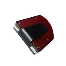 Metal Wallet Money Clip RFID Blocking Slim Minimalist Credit Card Case Holder