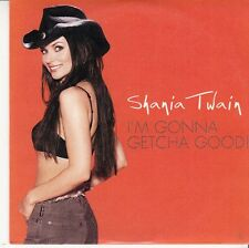 CD SP 2T SHANIA TWAIN *I'M GONNA GETCHA GOOD*