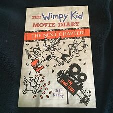 NEW, JEFF KINNEY. THE WIMPY KID MOVIE DIARY. THE NEXT CHAPTER.