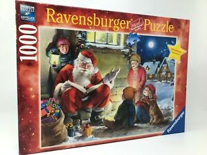 "Ravensburger Christmas Puzzle ""Santas Story Time"" 2010 Limited Edition 1000pcs"
