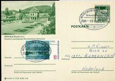 428739) Bahnpost Ovalstempel Würzburg-Hamburg 1977 auf Bund-GSK