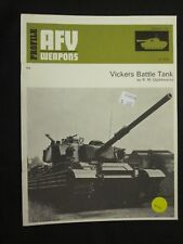 AFV Weapons Profile No. 45: Vickers Battle Tank