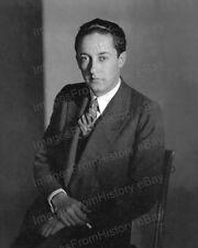 8x10 Print Erving Thalberg Portrait Film Producer 1927 ##ET2