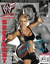 Sable Rena & Marc Mero Signed September 1998 WWF Magazine BAS Beckett COA WWE