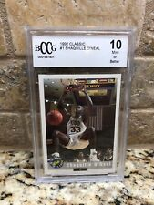 1992 Classic Shaquille O'Neal Orlando Magic #1 Basketball Card BCCG 10 RARE