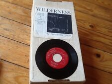"""Duane & The Gondoliers """"Lonesome Light/Wilderness"""" 45 Maverick PACIFIC NW RECORD"""