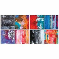 Abstract Wall Art Urban Decor Modern Color Layers Artwork on Metal or Plexiglass