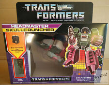 Transformers Reissue G1 Headmaster『Skullcruncher』 MISB
