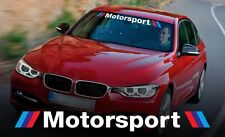Motorsport WINDSHIELD vinyl decal sticker fits to BMW e46 e92 e34 M3 M5 M6 X5