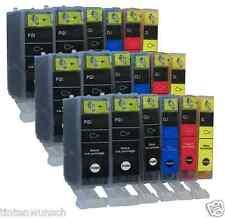 18Druckerpatronen For Canon Pixma MP640 IP4700 MP550 iP3600 iP4600 PGI520 CLI521
