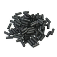 100Pcs Bike Bicycle Cycle Black Brake Cable Crimps Housing Ferrule End Caps 4mm