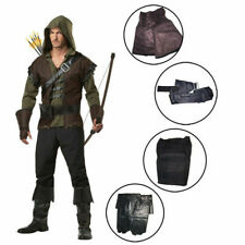 Robin Hood Prince Men's Cosplay Costume Clothing Halloween Fancy Dress Outfits