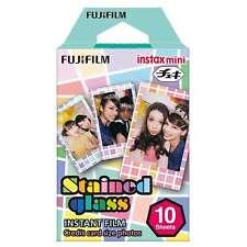 Pellicola Istantanea FujiFilm Instax Mini Stained Glass Cp.Polaroid/Lomo 10 foto